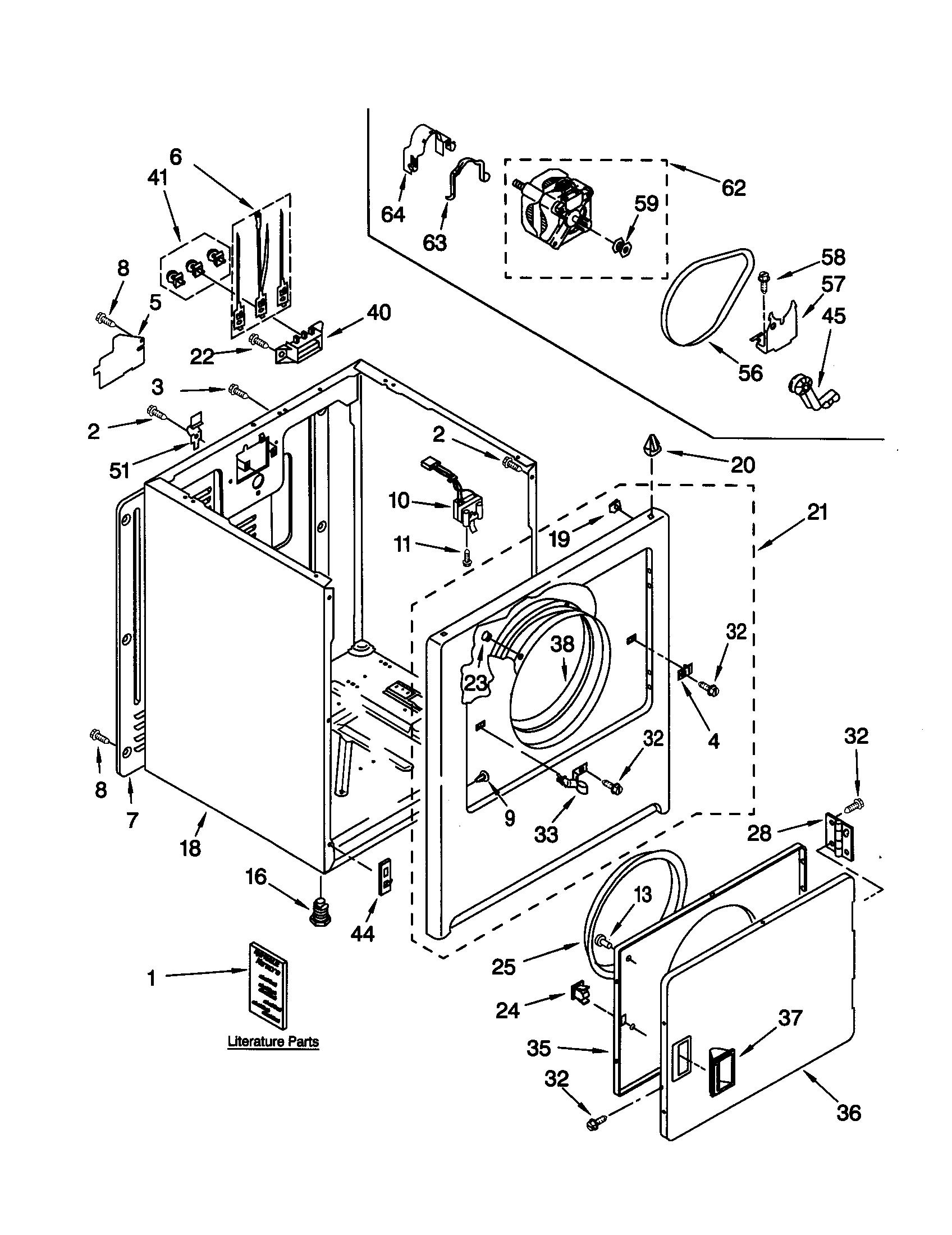Kenmore 110 Terminal Block Wire Kit