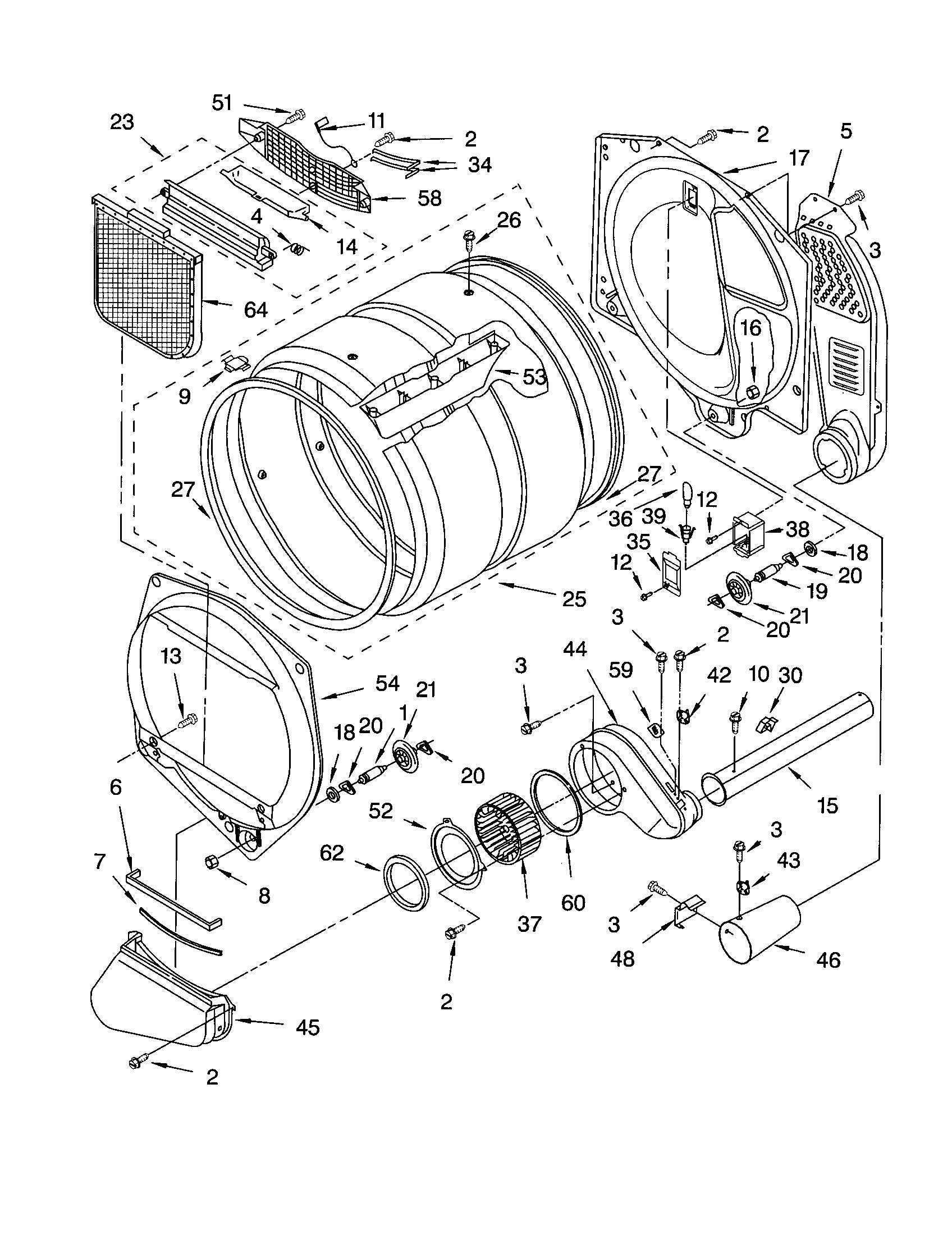 Kenmore 110.73034100 Dryer Thermal Cut-Off Fuse Kit