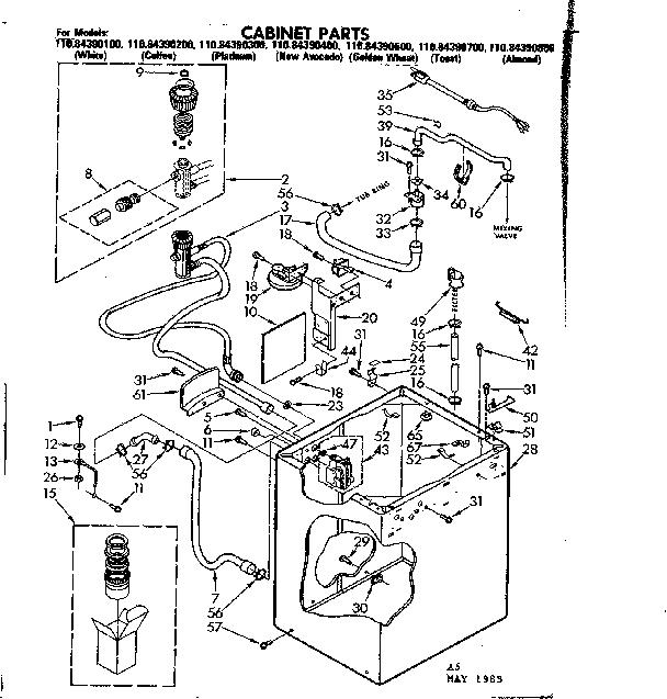 Kenmore 110 Washing Machine Wiring Diagram Wiring Diagram
