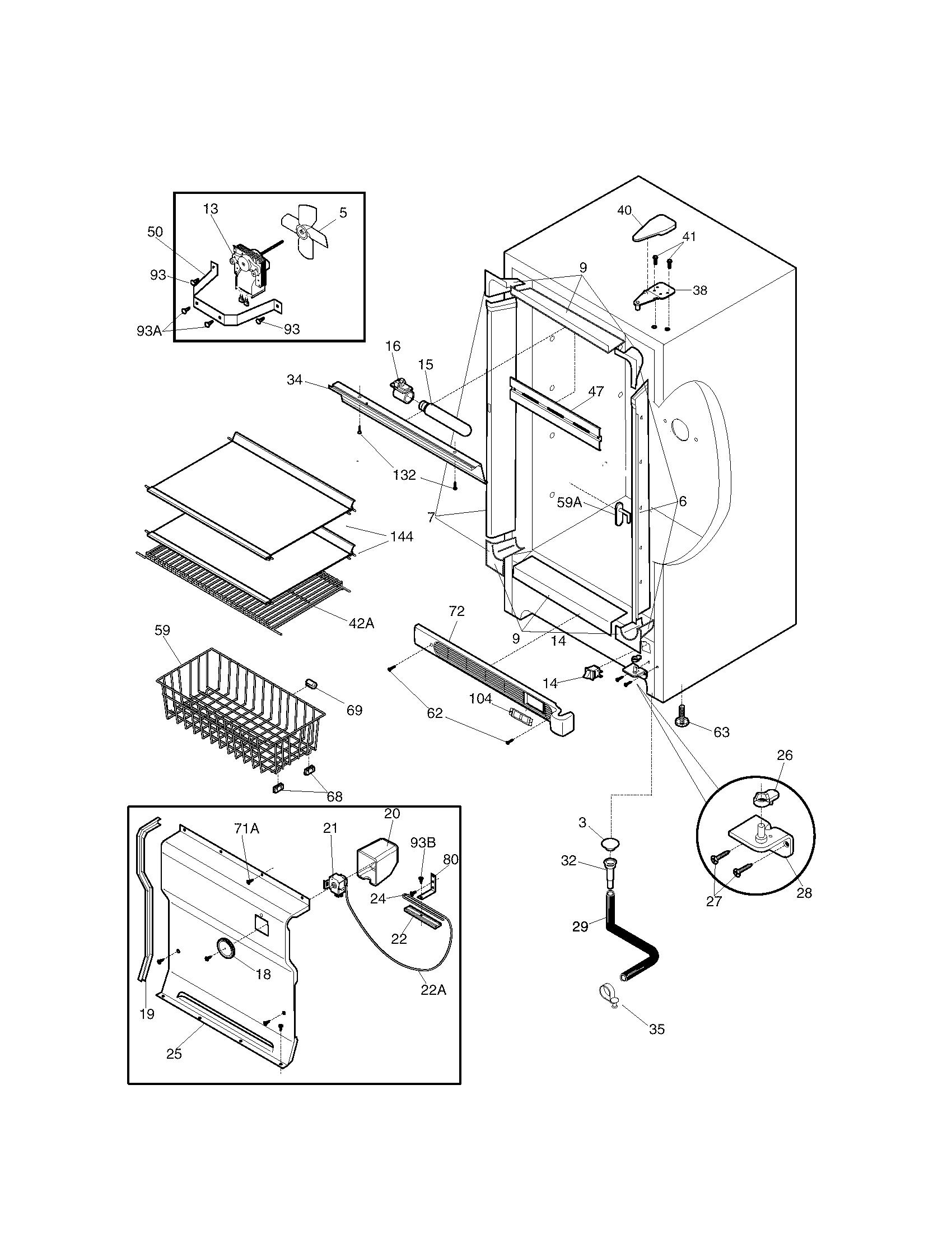 Kenmore 253.24452100 Freezer Temperature Control