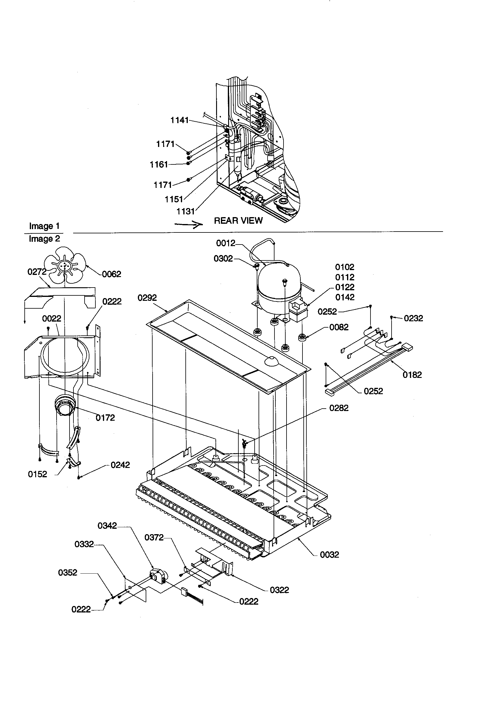Kenmore 596 Refrigeration Compressor Kit