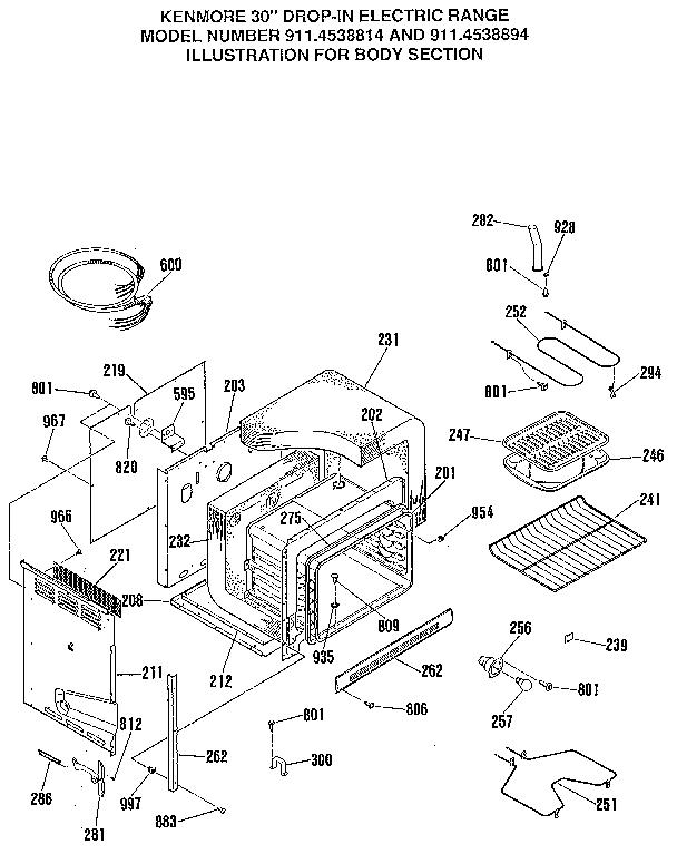Kenmore 911.4538814 Oven Light Bulb Holder/Socket
