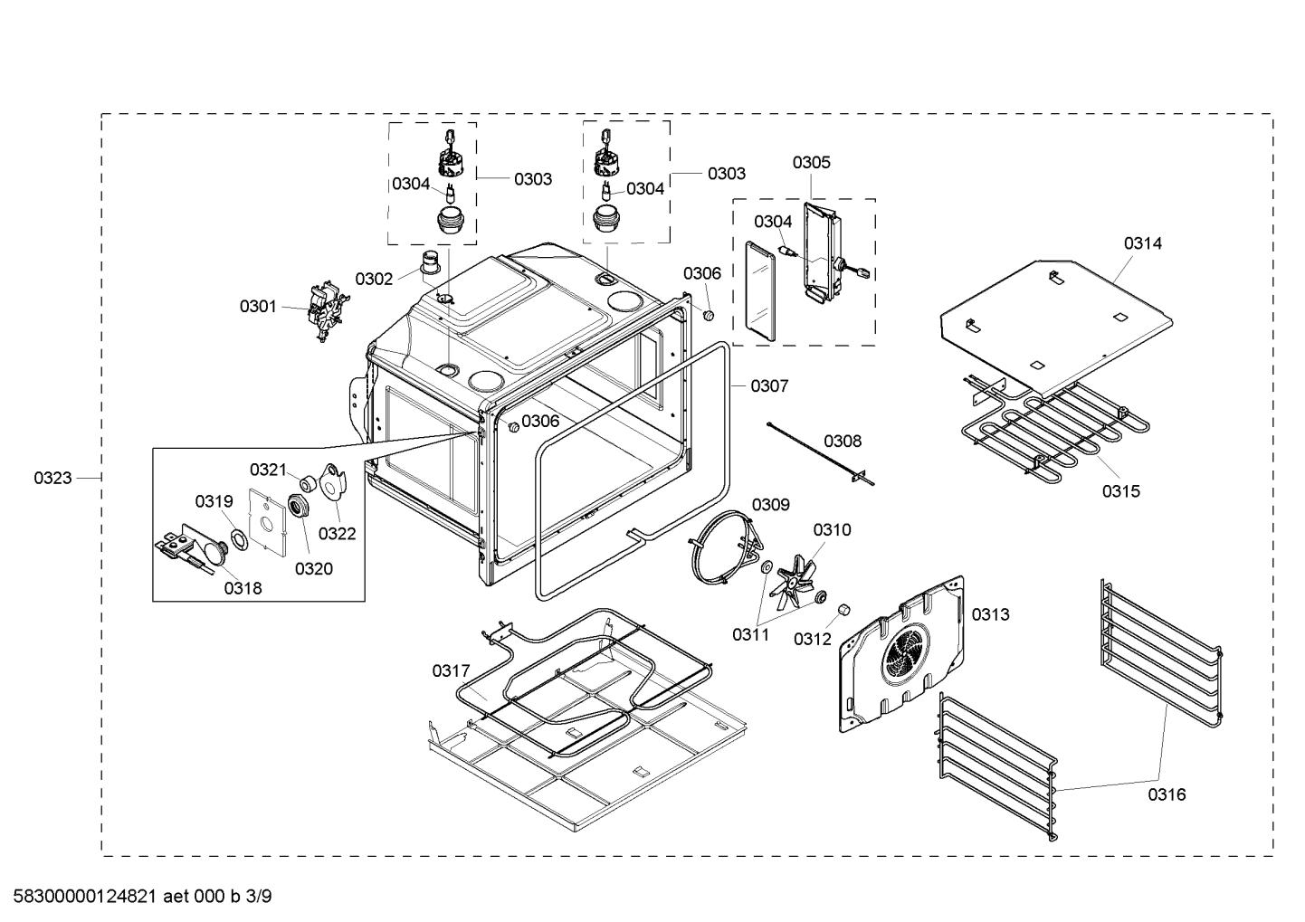 Bosch HBL8650UC/01 Halogen Lamp 10W (temperature resistant)