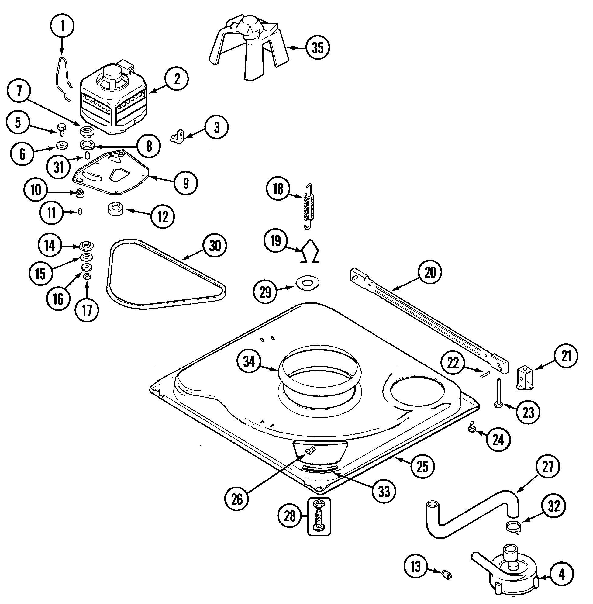 Admiral Lnc A71 Drive Motor