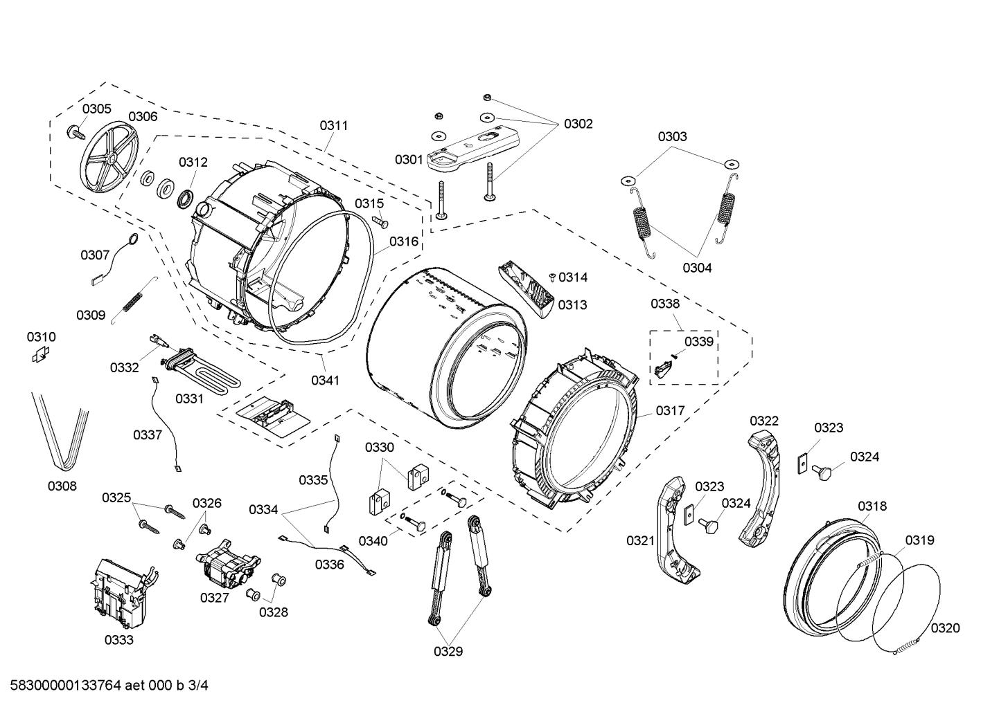 Bosch WFMC2201UC/12 Door Boot Gasket-Seal (serial-num