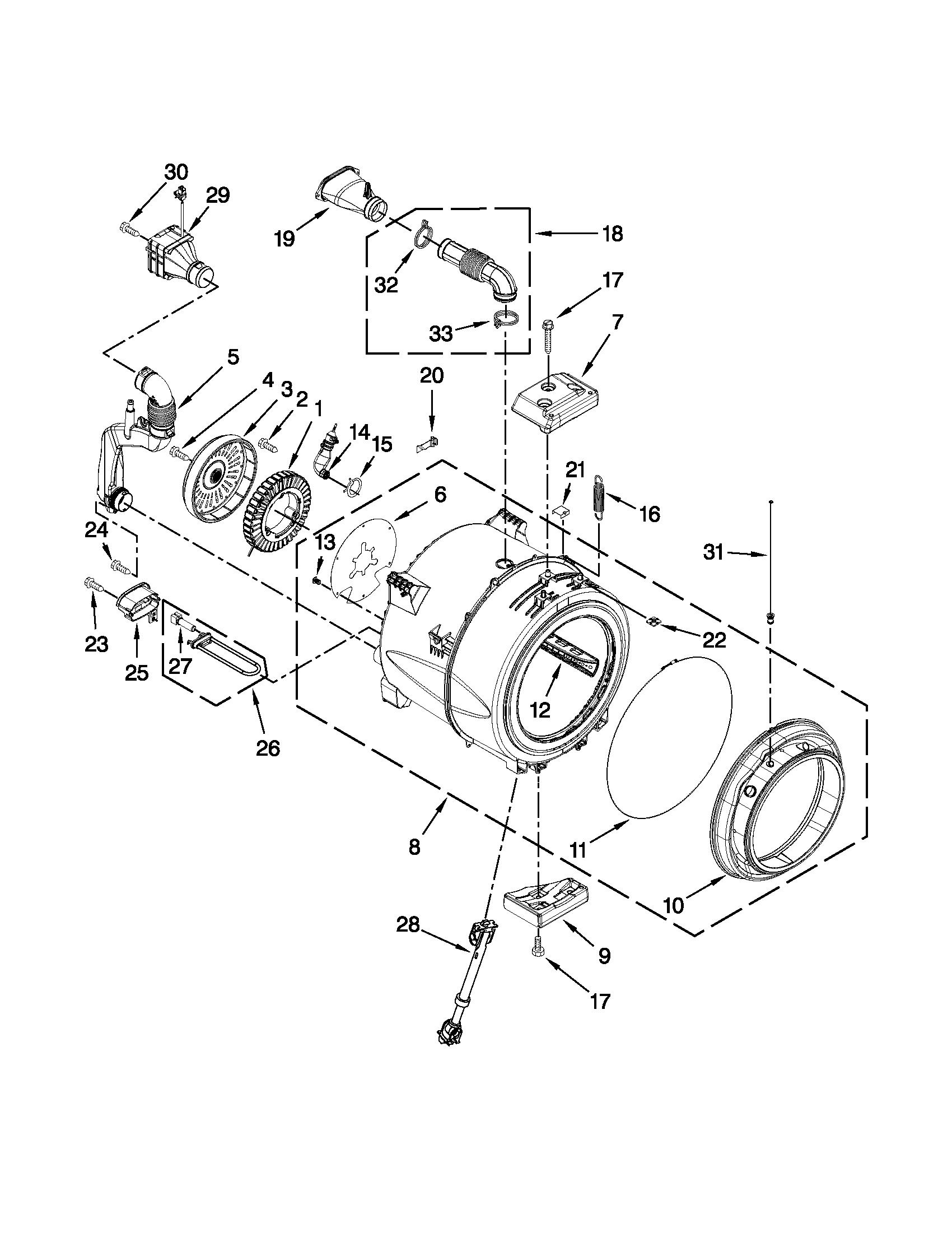 Whirlpool Washing Machine Bearing Replacement