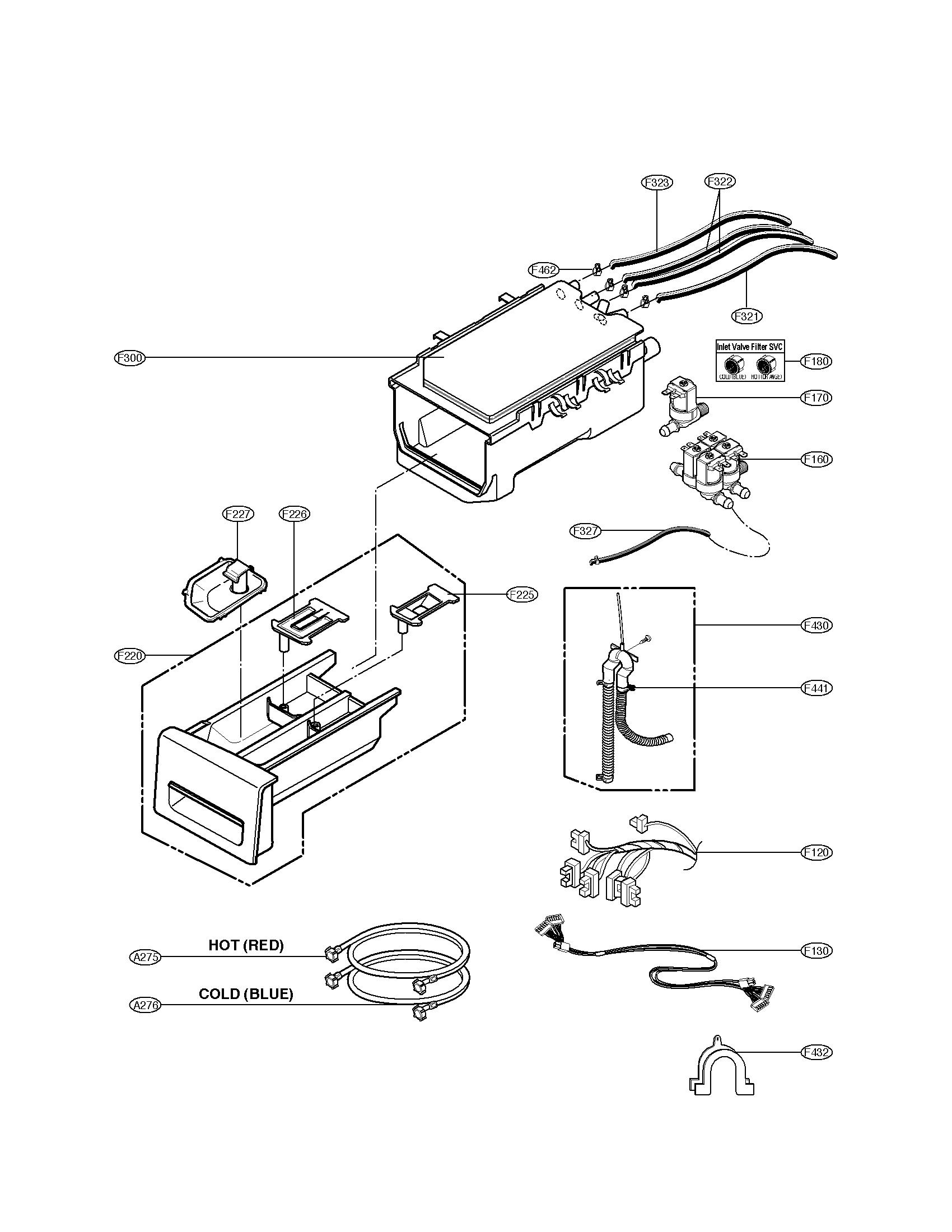 LG WM3360HWCA Washer Pump Motor Genuine OEM