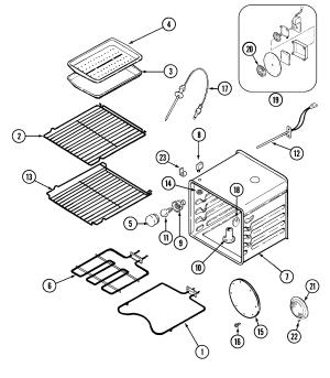 JennAir WW27430P Oven Rack  Genuine OEM