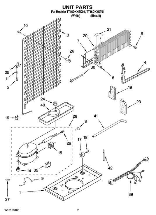 Estate TT16DKXSQ01 Drain-Drip Pan/Evaporator Tray