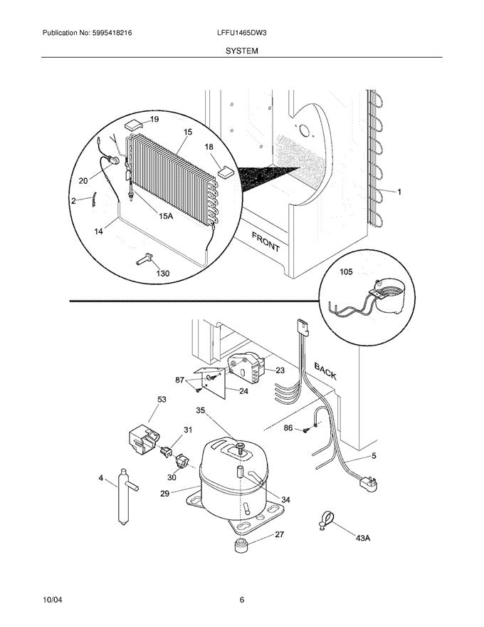 Frigidaire LFFU1465DW3 Compressor Controller/Start Relay