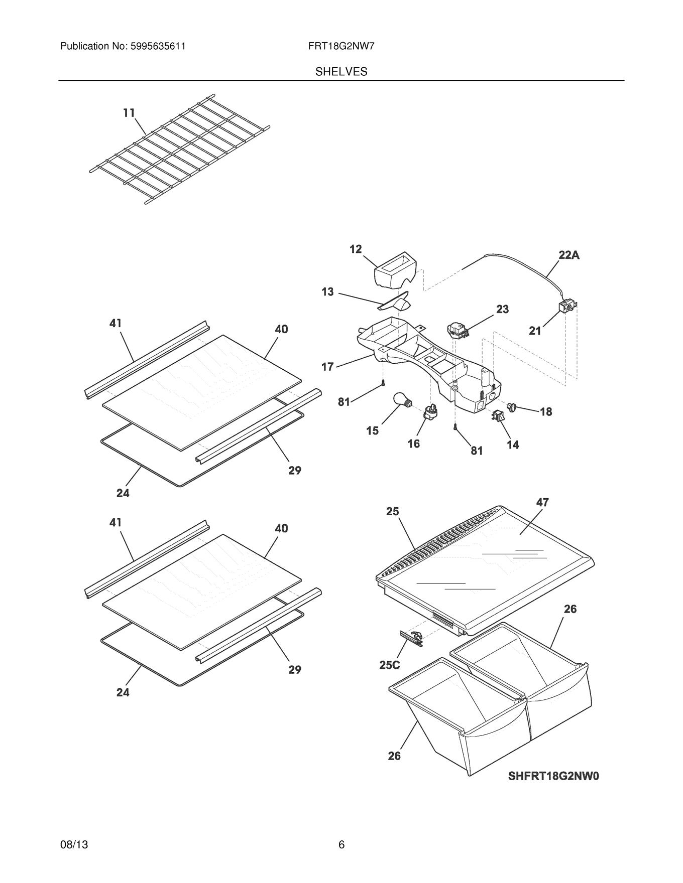 Frigidaire Frt18g2nw7 Control Box Wiring Harness Genuine Oem