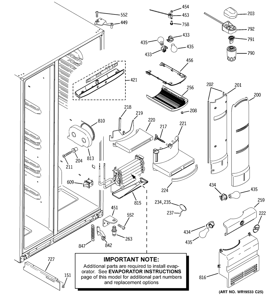 Ge Refrigerator Motherboard Wiring Diagram. a tell tale