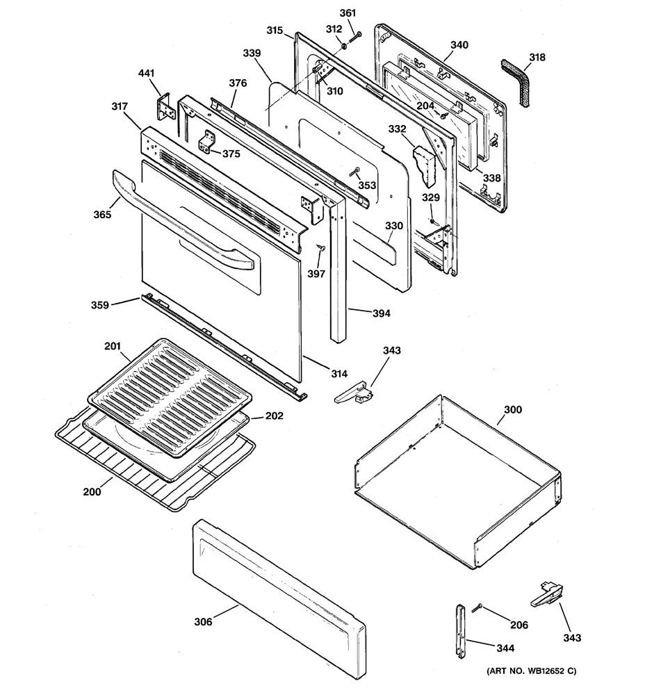Hotpoint RGB745WEA8WW Broiler Pan Set (Large 17 in. x 13
