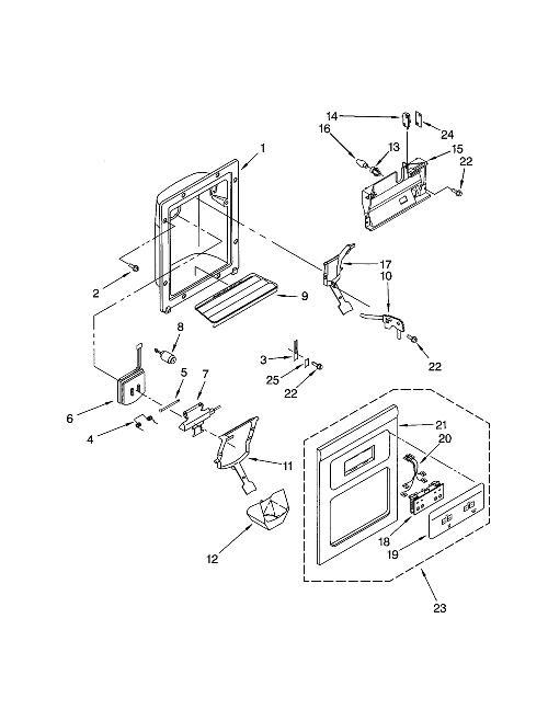Kenmore 106.52582201 Refrigerator Parts
