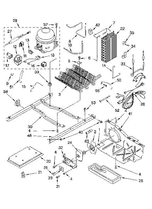 Kenmore 106.55389400 Refrigerator Parts