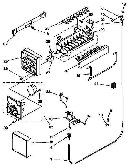 Kenmore 106.77821790 Crisper Drawer Track (Right