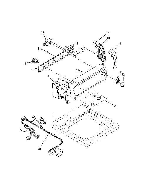 Kenmore 110.24422300 Washing Machine Parts