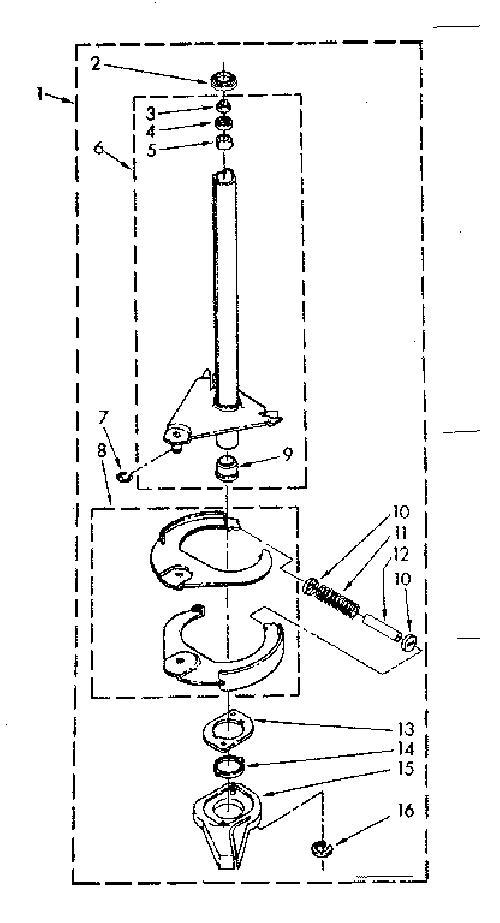Kenmore 110.82870100 Washing Machine Brake Shoe Assembly