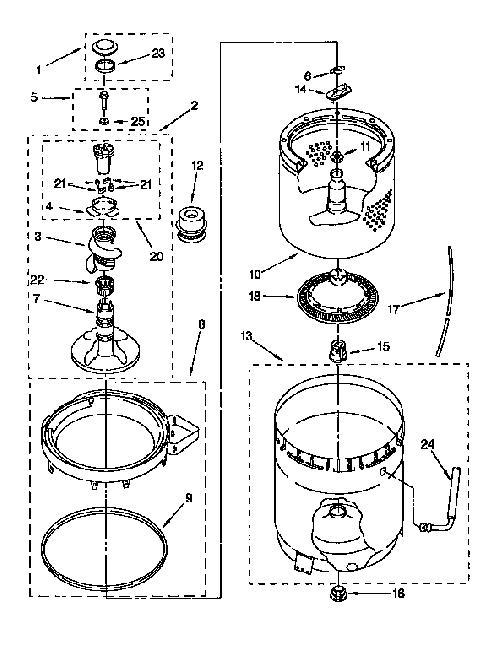 Kenmore 110.92380200 Fabric Softener Dispenser Cup