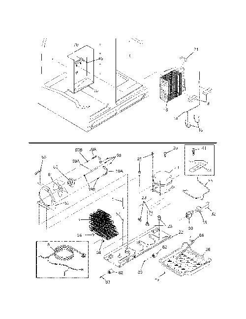 Kenmore 253.5569340A Refrigerator Parts