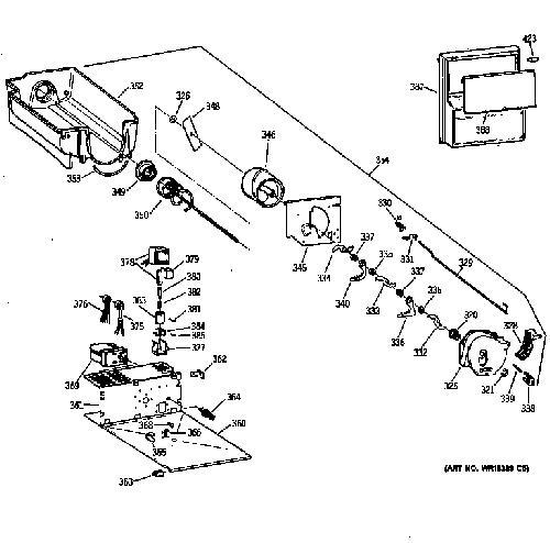 Kenmore 363.58257890 Ice Maker Auger Motor Genuine OEM
