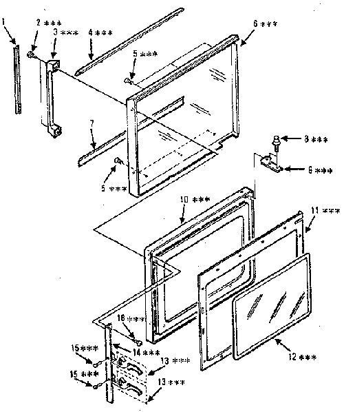 Kenmore 565.8844781 Microwave Parts