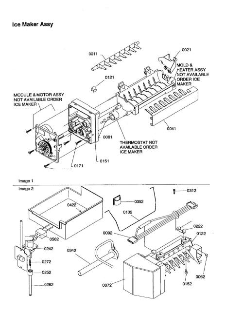Kenmore 596.79142992 Replacement Ice Maker Assembly