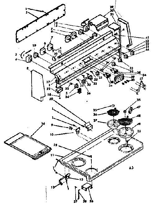 Kenmore 628.9497360 8 inch Coil Surface Burner Element