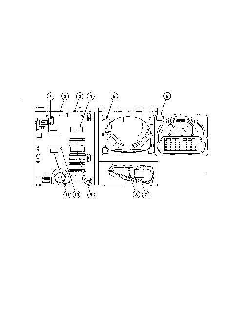 Alliance Laundry Systems ATEE9AGP173TW01 Washer/Dryer