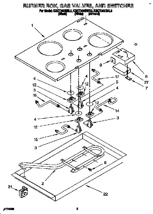 KitchenAid KGCT305BWH0 Oven Spark/Igniter Module Genuine OEM