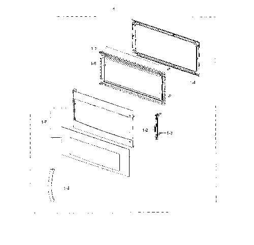 Samsung ME18H704SFB/AA Microwave Parts