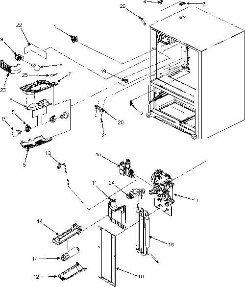 Maytag MFI2568AEQ Refrigerator Parts