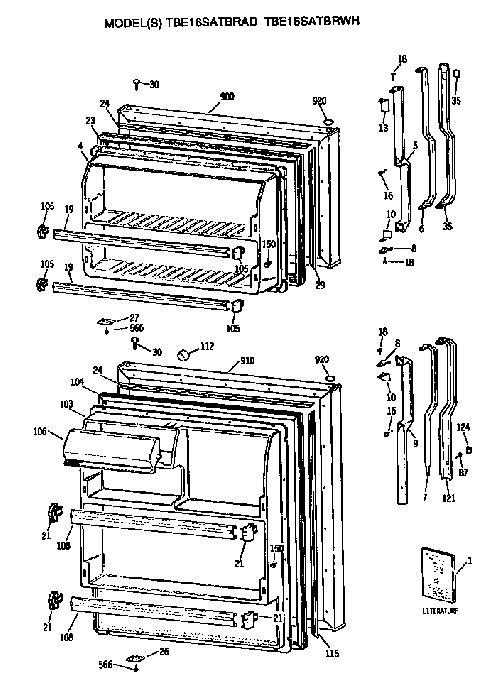 Wire Diagram For Ge Refrigerator Model 22 25. Diagrams