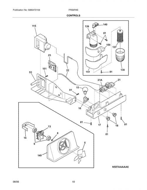 Frigidaire FRS6R4EBB Adaptive Defrost Control Board Kit