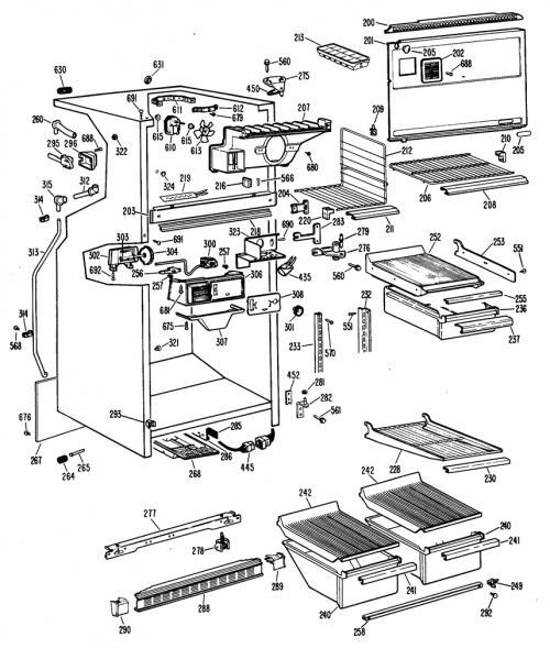 Hotpoint CTX18EFCR Shelf Insert/Crisper Drawer Cover