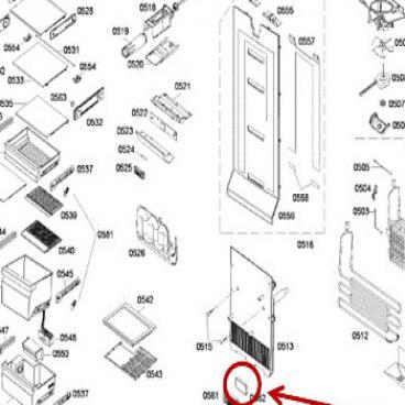 Bosch Part# 00614665 Active Carbon Filter (OEM)