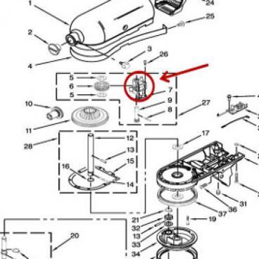Whirlpool Part# 240308 Bearing (OEM