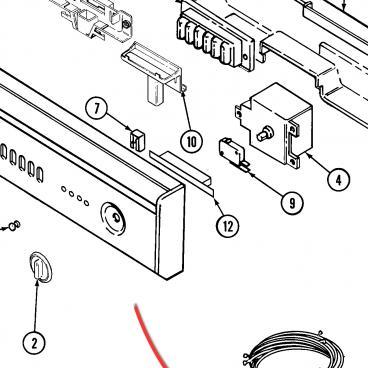 Whirlpool Part# W10184368 Wire Harness (OEM)
