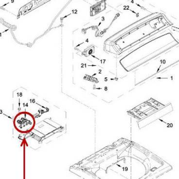 Whirlpool Part# W11220230 Water Valve (OEM)