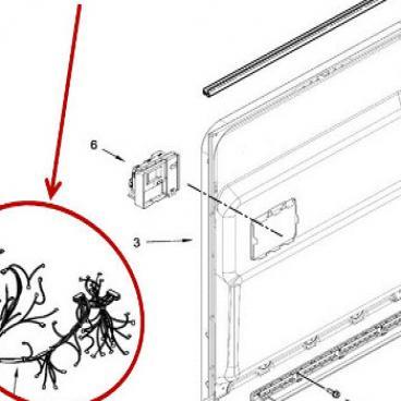 Whirlpool Part# W11243205 Wire Harness (OEM)