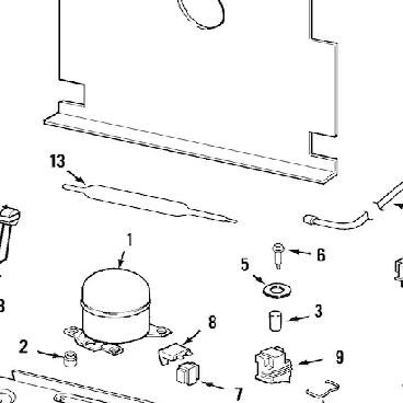 Whirlpool Part# WPW10445742 Fan Blade (OEM)