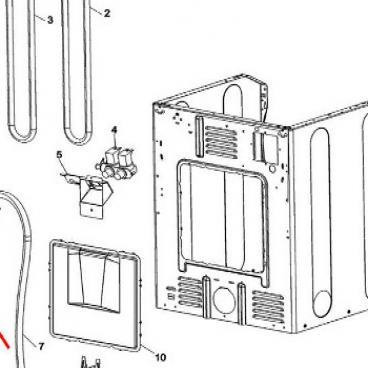Whirlpool Part# WP22002892 Retainer (OEM)