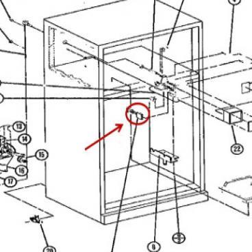 Whirlpool Part# WPD7813010 Ice Maker Wire Harness (OEM)