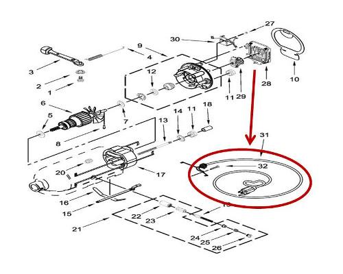 Whirlpool Part# W11094907 Power Cord (OEM)
