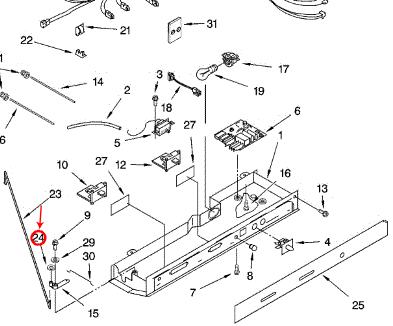 Kenmore 106.58902802 Refrigerator Parts