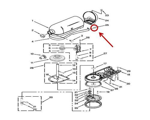 Whirlpool Part# WP313808 Screw (OEM