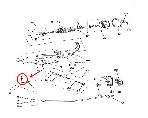 Whirlpool Part# WP9709277 Speed Lever (OEM)