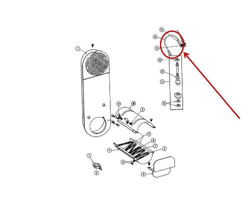 Whirlpool Part# WPY304693 Jumper Wire (OEM)