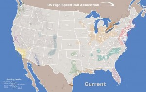 US High Speed Rail Network