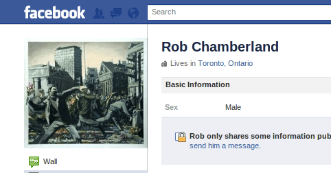 CUPE 2073 President Rob Chamberland longs for the days of the Haymarket Massacre...